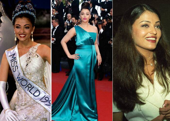 <b>Aishwarya Rai Bachchan</b>: The former beauty queen had caught everybody's attention when she appeared in a cola commercial in 1993. The following year the blue-eyed actress was crowned Miss World and has since been seen in various avatars. However, the most-talked about has been the baby weight that the young mommy piled on during her pregnancy, making it hard to compare her to the sexy Dhoom girl she once was. But, after much hard work, Aishwarya Rai flaunted her curves at the Cannes Film Festival 2013, looking absolutely fabulous.