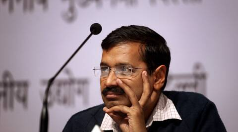 Our first priority is the Lokpal Bill, Delhi Chief Minister Arvind Kejriwal said. (IE Photo: Oinam Anand)