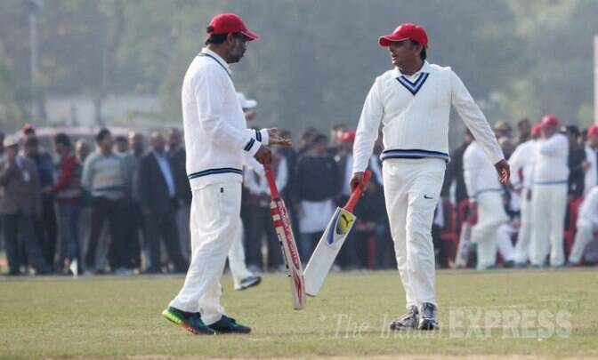 UP CM Akhilesh Yadav takes a day off - plays cricket, spends time with family