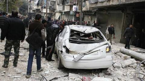 Syrian forces have been relentlessly bombing rebel-held areas of Aleppo, trying to wrest full control over the city. (Reuters)