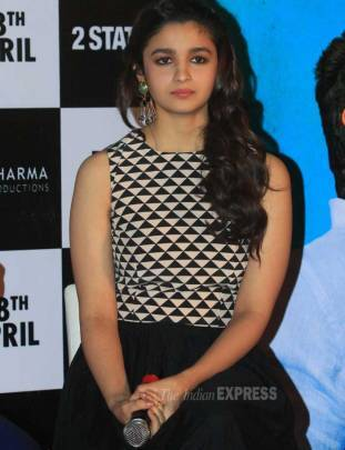 Alia Bhatt, Arjun Kapoor launch '2 States' trailer