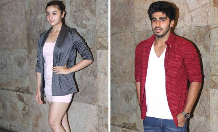 <b>Alia Bhatt – Arjun Kapoor</b>: 'Student of the Year' actress Alia Bhatt has been linked with her '2 States' co-star Arjun kapoor quite a few times. We hear the actress is good friends with his sister Anshula as well. However, time and again she has denied the rumours saying she is too young to concentrate on love. <br /><br /> Interestingly, Alia Bhatt has also been linked with Varun Dhawan. It's time she comes clean, don't you think?