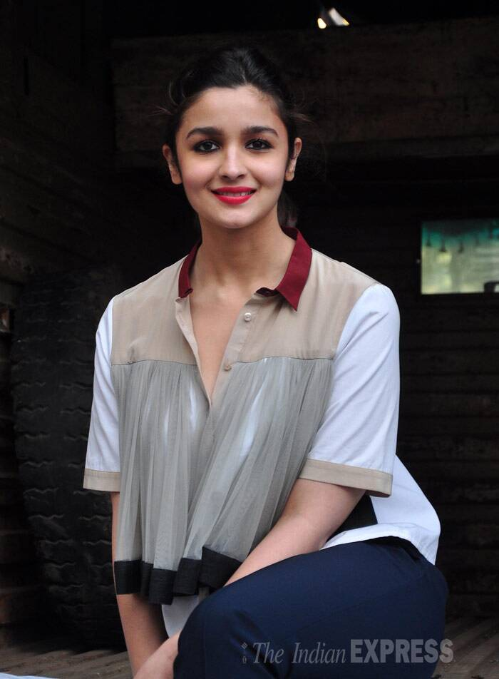 Alia Bhatt, who is leaving for Berlin to attend the Berlinale, looks pretty. (Photo: Varinder Chawla)