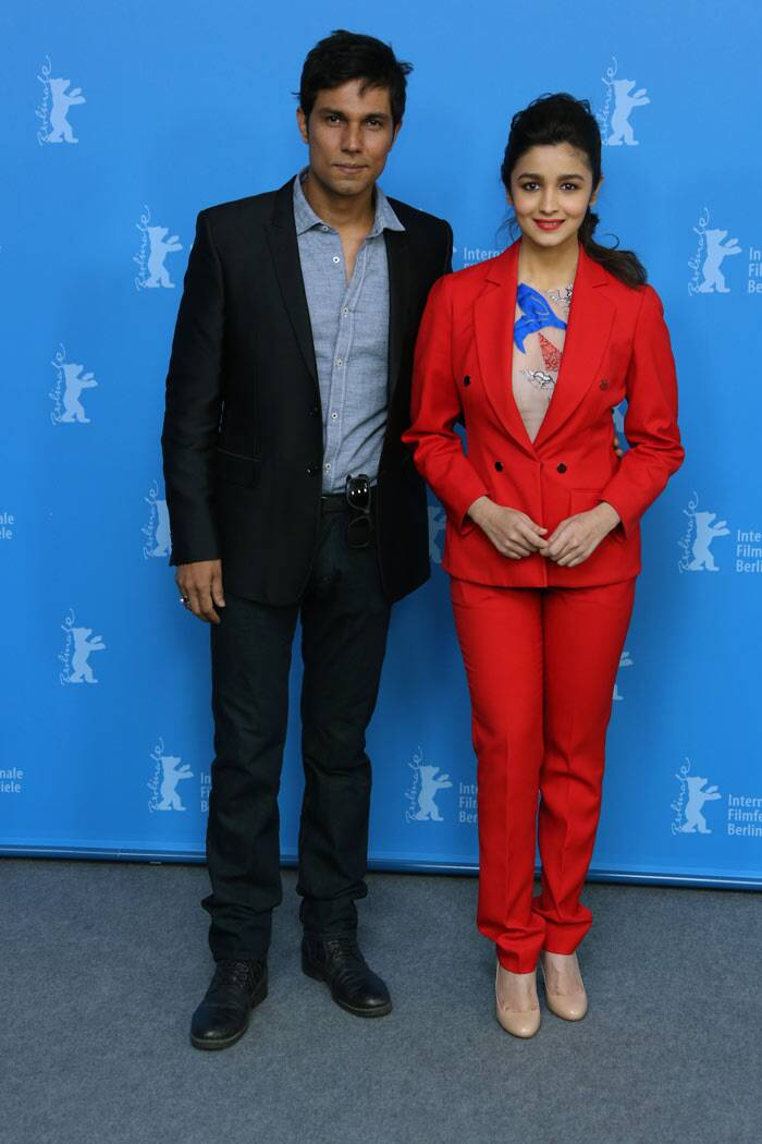 Alia Bhatt, Randeep Hooda at Berlinale
