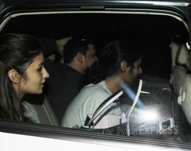 Ranbir Kapoor's parents watch Alia Bhatt's 'Highway'