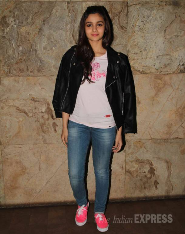 Parineeti Chopra, Alia Bhatt, Sidharth watch 'Hasee Toh Phasee'
