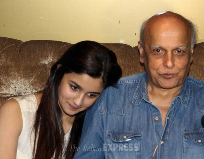 "Mahesh Bhatt is a proud father after watching Alia's role in 'Highway'. He beautifully surmised her role saying, ""This ('Highway') is Alia's Arth. Highway is a film that will sparkle in Alia's filmography."" (Photo: Varinder Chawla)"