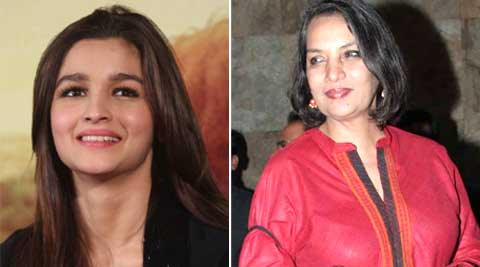 Shabana Azmi congratulated Alia Bhatt.