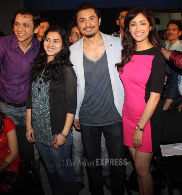Ali, Yami busy with filmi events