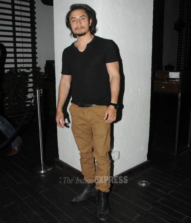 Ali Zafar parties with Madhoo, Shweta