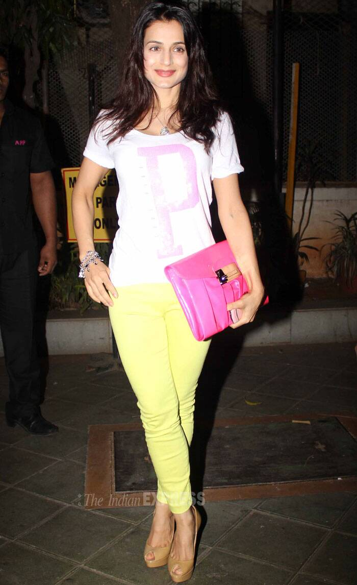 Ameesha Patel's gazal night