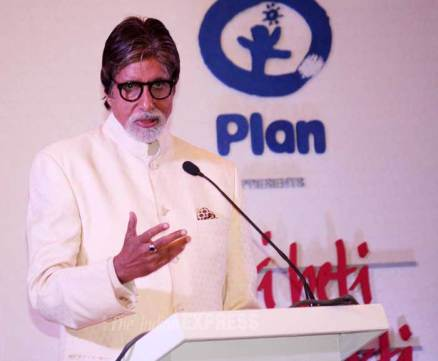 Big B, Avantika lend support to girl child