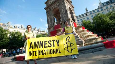 Amnesty had approached MHA in 2010 and 2011 to receive funds from abroad and the two requests were clubbed and the agency was allowed to receive 200,000 pounds from Amnesty International, London, in 2011. Reuters