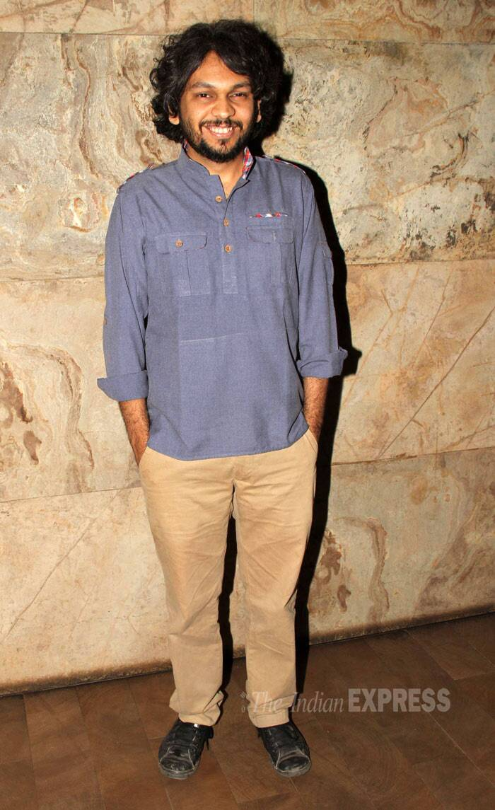 'Ship of Theseus' director Anand Gandhi was also present. (Photo: Varinder Chawla)