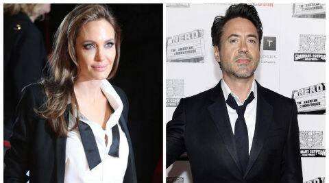 Angelina topped the female list with an income of USD 33 million, whereas Downey Jr topped the male list with an earning of USD 75 million. (AP/Reuters)