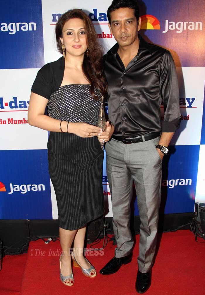 TV actor Anoop Soni came with his wife Juhi. (Photo: Varinder Chawla)