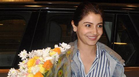Anushka Sharma made no effort to hide from the waiting paparazzi at the airport. (Photo: Varinder Chawla)