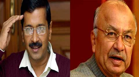 Talking to reporters here in his hometown, Shinde said that Kejriwal was yet to share the details of foreign donations with the Union Ministry of Home Affairs.