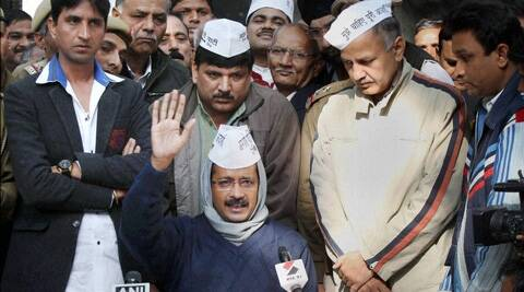 News channels latch on to AAP's moves, reporting them in the morning, debating them at night. (PTI)