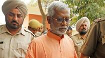 In his one-page handwritten note released to the media Friday through one of his lawyers, Aseemanand said although he had met the reporter in jail he had not discussed his case with her. (Express Archive)