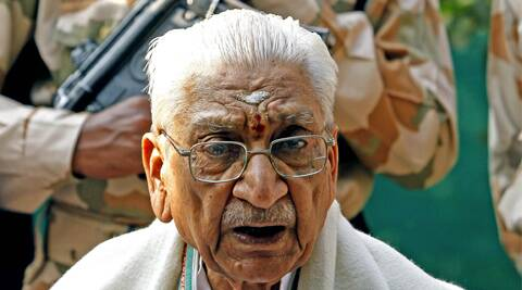Praising Narendra Modi as a nationalist, Singhal said more than 15,000 sants would campaign for him. (Express Archive)