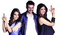 Ayesha Khanna, Harman Baweja and Shilpa Shetty