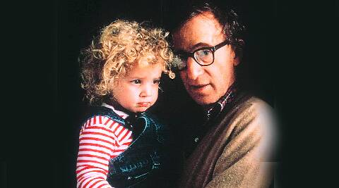File picture of Woody Allen and Dylan Farrow.