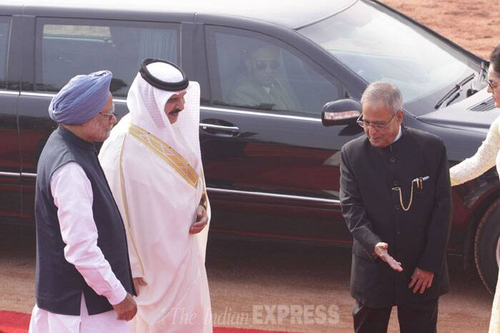 "Inviting businesses from Bahrain to invest in India, Minister of State for Commerce & Industry E M S Natchiappan said: ""With the reforms being undertaken in India, there are several opportunities for Bahraini companies to invest in the country"". (IE Photo: Praveen Jain)"
