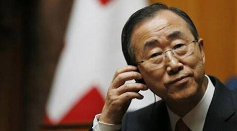 UN chief Ban Ki-moon has said that the UN is supportive of all efforts towards constructive dialogue. (Express Archive)