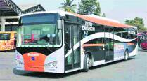 BMTC unveils India's first electric bus