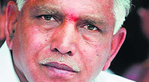 The BJP hopes to woo the influential Lingayat community by fielding Yeddyurappa.