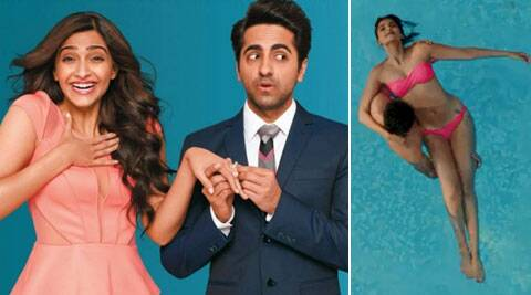 'Bewakoofiyaan' is about a well settled executive played by Ayushmann and his girlfriend Sonam Kapoor.