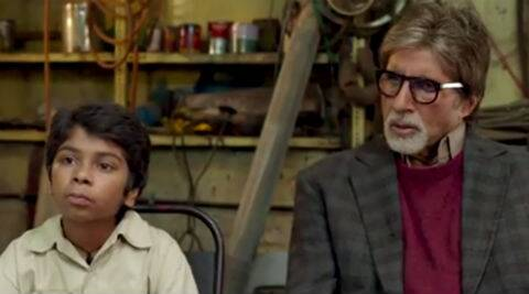 The trailer gives us a glimpse of the friendly ghost 'Bhoothnath' who does his best to frighten children.