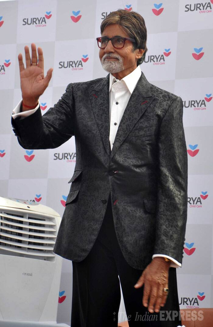 Amitabh Bachchan at a unique awards show