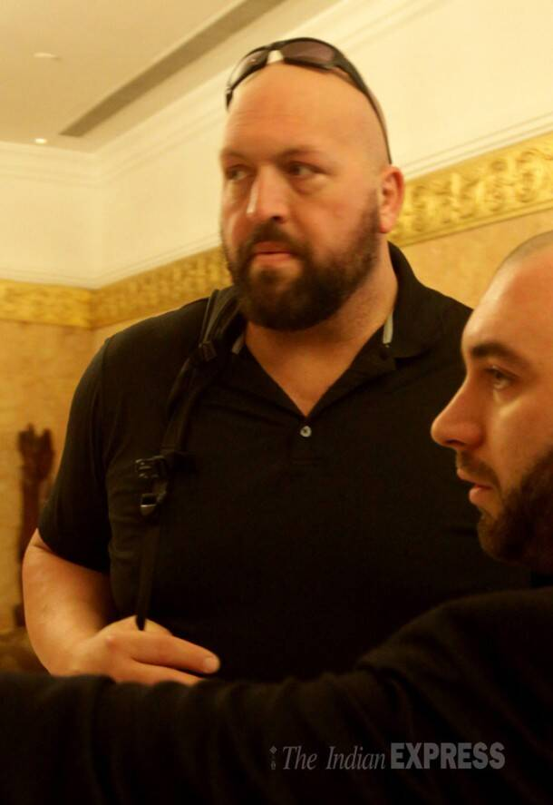 WWE superstar Big Show visits India