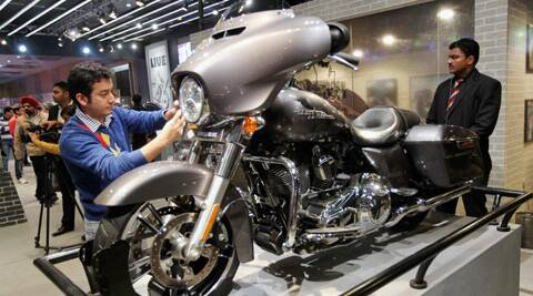 According to the Society of Indian Automobile Manufacturers, 1.1 lakh people visited the expo on Saturday.  (Photo: PTI)