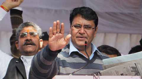"Vinod Kumar Binny accused Chief Minister Arvind Kejriwal of being ""more dangerous"" than a corrupt person. (PTI Photo)"