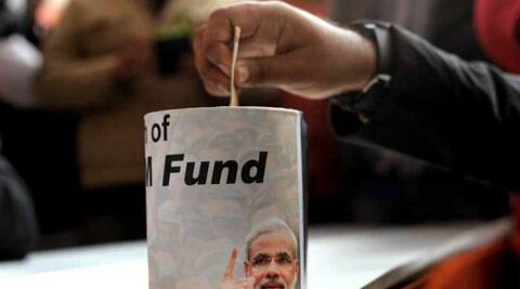 BJP's online donation campaign gains momentum, NRIs from Gujarat are giving a major push to make the campaign a success.
