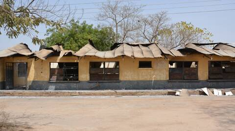 Islamic militants killed dozens of students in the northeast Nigerian school, setting ablaze a locked dormitory and shooting and slitting the throats of those who escaped through windows. (AP Photo)