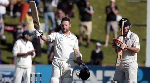 New Zealand skipper Brendon McCullum has scored a double ton. (Reuters)