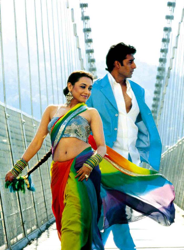 The following year, Abhishek had fabulous success with commercial hit Shaad Ali's 'Bunty Aur Babli', opposite rumoured girlfriend Rani Mukerji. The film, which almost drew a comparison from American classic, 'Bonnie and Clyde,' became one of the biggest hits of 2005.