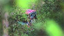 2 killed, 6 injured as Volvo bus falls into gorge near Parwanoo