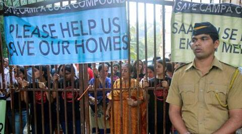 SC has already set a deadline of May 31, 2014 for Campa Cola building residents to vacate the flats. (PTI Photo)