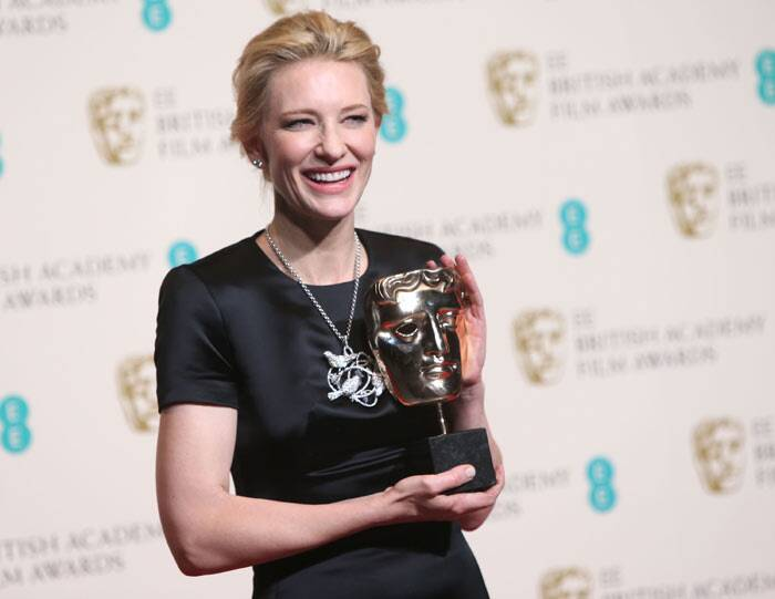 Cate Blanchett won the Best Actress award for Best Actress for 'Blue Jasmine'. (AP)