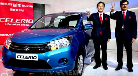 Maruti Suzuki's Celerio remained most searched car on Google during auto expo. (IE Photo)