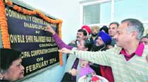 BJP councillors  inaugurate projects a day beforeschedule