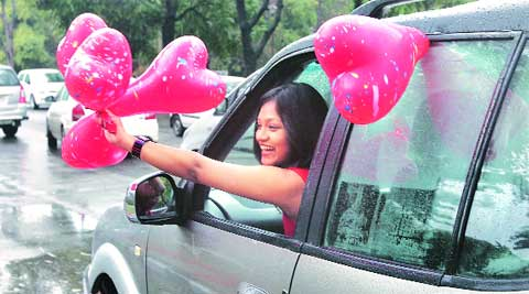 The Chandigarh Police made special arrangements for Valentine's Day on Friday.