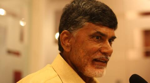 Asked if he was for bifurcation of his state, Naidu said that states were divided following proper procedures. (Express Archive)