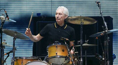 Charlie Watts: The thought of doing 50 shows, which was normal at one time for us, is quite daunting now. (Reuters)