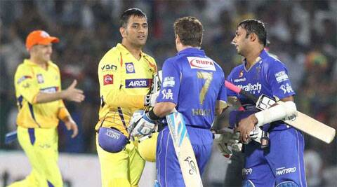 The panel has pointed out the relevant clauses in the franchise agreements between BCCI and India Cements — which owns CSK — and Jaipur IPL Cricket Pvt Ltd, which owns Rajasthan Royals, to underline the situation in which the agreement could be annulled. Express photos